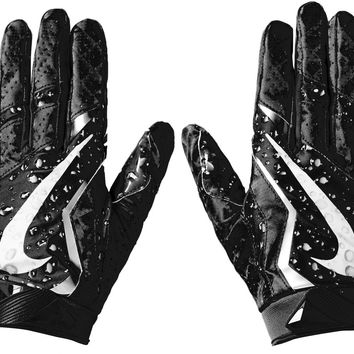 Supreme Nike Vapor Jet 4.0 Football Gloves Black