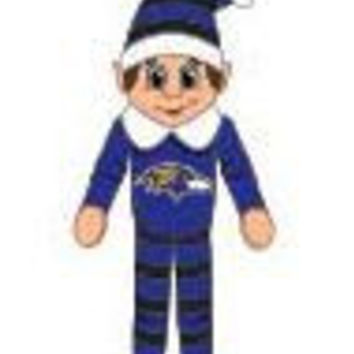 Baltimore Ravens Plush Elf