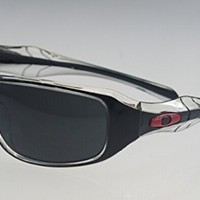 Musicstorex(TM) New Polishing Black - Red Outdoor Sports Sunglasses fit men and women