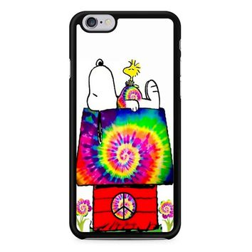 Snoopy And Woodstock Tie Dye iPhone 6/6S Case