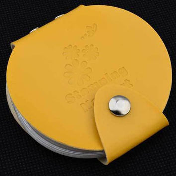 One Piece Round Printing Template Card Bag Nail Tool