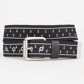 Benrus Anchor Belt Black  In Sizes