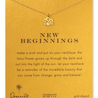 Dogeared New Beginnings Necklace, 18"