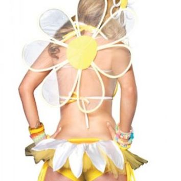 White Daisy Wings @ Amiclubwear costume Online Store,sexy costume,women's costume,christmas costumes,adult christmas costumes,santa claus costumes,fancy dress costumes,halloween costumes,halloween costume ideas,pirate costume,dance costume,costumes for h