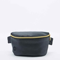 Mi-Pack Perforated Bum Bag in Black - Urban Outfitters