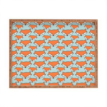 Allyson Johnson So Foxy Rectangular Tray