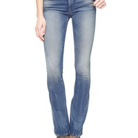 True Religion Becca Twisted Bootcut 34 Womens Jean - Playa Lagoon