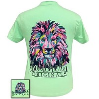 Girlie Girl Originals Preppy Watercolor Lion T-Shirt
