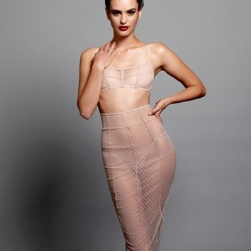 Beach Bunny Swimwear SHEER SEXY SKIRT By Love Haus -