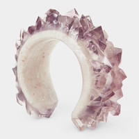Resin Amethyst Cuff | MoMA Store