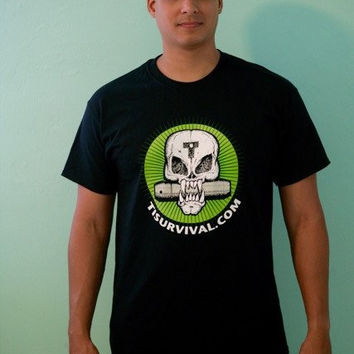 Ti Survival Skull T-Shirts