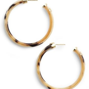 Argento Vivo Horn Hoop Earrings | Nordstrom