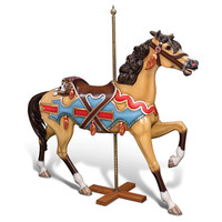 The Genuine 1902 E Joy Morris Carousel Horse.