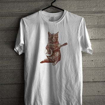 Banjo and Cat tshirt unisex aduts
