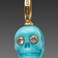 JUICY COUTURE Blue Skull Charm in Gold at Revolve Clothing - Free Shipping!