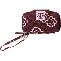 Texas A&M Aggies The Honour Society Women's Quilted Clutch