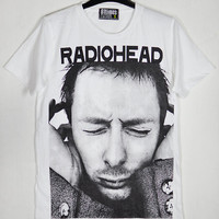 Radiohead Thom Yorke Lead Vocals The King of Limbs Physical Movements White Unisex T-Shirt S to XXL
