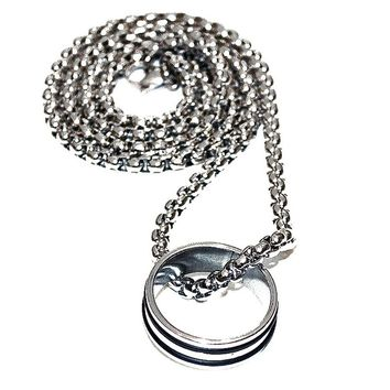 STLS001 stainless steel Jewelry Nekless for Men Gift and Present