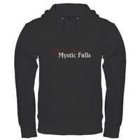 The Vampire Diaries Mystic Falls Hoodie (dark) on CafePress.com