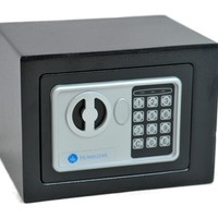 Homegear Small Electronic Safe Gun Money Passport Home Hotel Office Wall Cabinet