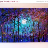 April Sale 40  off Large original oil painting  by jeanvadalsmith