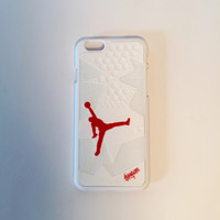 Air Jordan 6 Carmine sneaker iPhone case