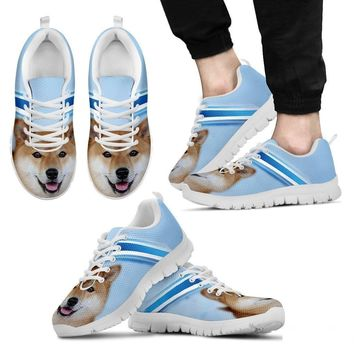 Akita Dog Running Shoes For Men-Free Shipping