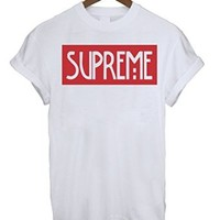 Supreme Spoof Inspired Logo Mens & Ladies Unisex Fit T-Shirt