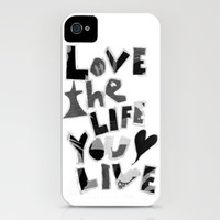 LOVE iPhone Case by Gypsy Gemini  | Society6