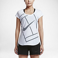 The NikeCourt Baseline Women's Tennis Top.