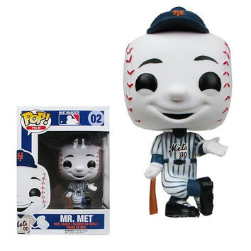 MAJOR LEAGUE BASEBALL MR. MET POP! VINYL