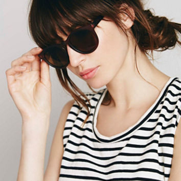 Free People Womens Calypso Round Sunglass