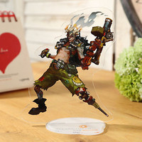 Overwatch JunkRat Acrylic Cute Standing Furnishing Articles Ornaments
