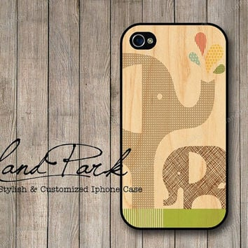 Cute Elephant iPhone 4 Case, iPhone 4s Case, iPhone Case, iPhone hard Case