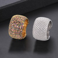 GODKI Luxury Cubic Zirconia Wedding Rings for Women Bridal Engagement Wedding Jewelry CZ Femmale Accessories Whole Finger Rings