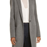 Theory New Divide Wool & Cashmere Coat | Nordstrom