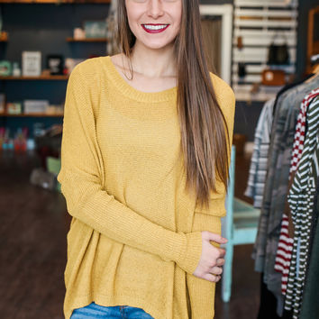 Replay Sweater - Mustard