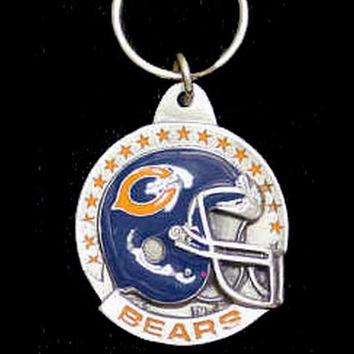 Chicago Bears Carved Metal Key Chain SFK005