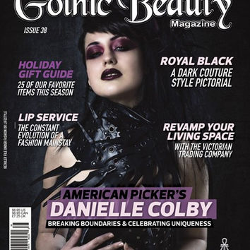 Gothic Beauty Magazine Issue 38 Music interviews with The 69 Eyes, Kamelot and Black Light Burns