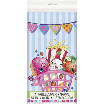 Shopkins Plastic Table Cover