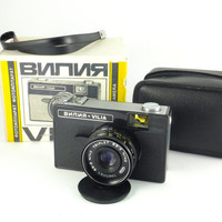 Vilia Russian camera Soviet Design Mint Condition Fully Operational USSR Camera Soviet Camera Boxed