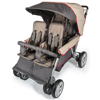 Foundations LX4 Quad Stroller - EarthScape