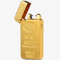 Gold Bar Electric Rechargeable Lighter
