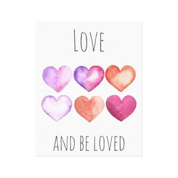 Love And Be Loved - Wall Print Art