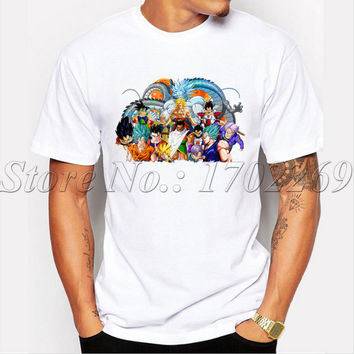 The Saiyans fashion design Men customized t-shirt Circle Of Awesome Vegeta male cool tops funny hipster men tee