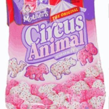 Mother's, Circus Animal Cookies, Frosted, 12oz Bag (Pack of 4)