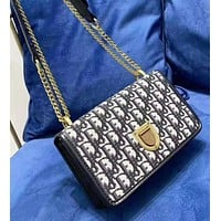 Dior fashion simple high-grade chain shield bag shoulder Messenger bag