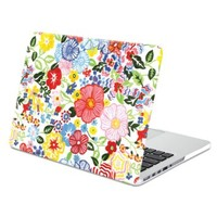 Macbook Pro Retina 13 Case, GMYLE Hard Case Print Frosted for MacBook Pro 13 inch with Retina display (Model: A1425 and A1502) - Blossom Floral Pattern Rubber Coated Hard Shell Case Cover (Not Fit For Macbook Pro 13)