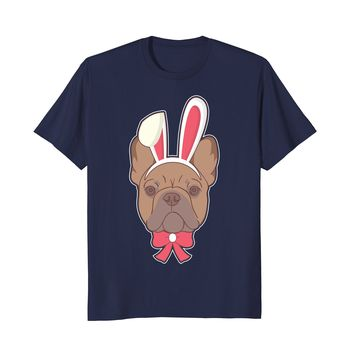 French Bulldog Frenchie Happy Easter Decorations 2018 Shirt