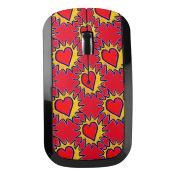 Hearts Wireless Mouse